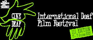 CINEDEAF logo